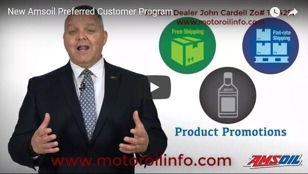 Amsoil Preferred Customer Program Video