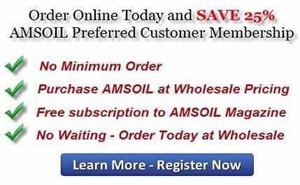 Amsoil Preferred Customer Program