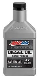 Amsoil Heavy Duty 10W-30 ADN Synthetic Motor Oil Buy Now/Pricing Information