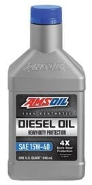 Amsoil Heavy Duty 15W-40 Synthetic Motor Oil