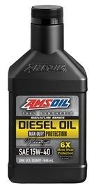 Amsoil Signature Series 15W-40 Synthetic Diesel Oil DME