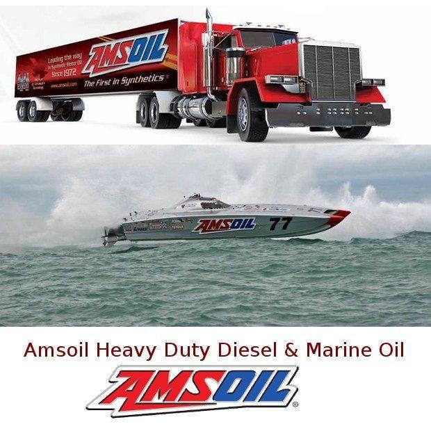 Amsoil Heavy Duty Diesel & Marine Oil