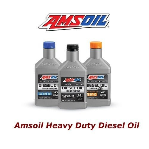 Heavy duty diesel oil where to buy amsoil preferred for Synthetic motor oil test