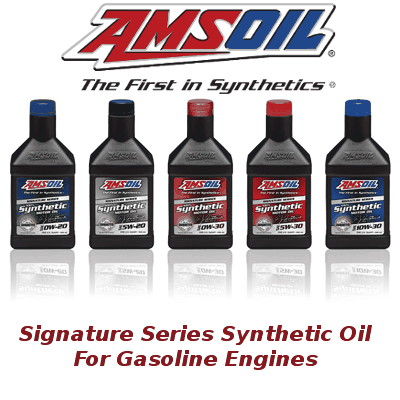 Amsoil Signature Series Synthetic Gasoline Engine Oil - OW-20, 5W-20, 0W-30, 5W-30, 10W-30, 0W-40, 5W-50