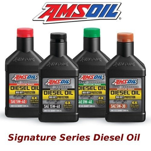 Amsoil Signature Series & Heavy Duty Diesel Oil