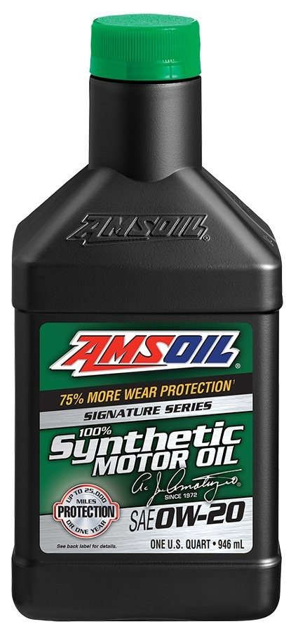 Amsoil Signature Series Synthetic Oil for Gasoline Engines
