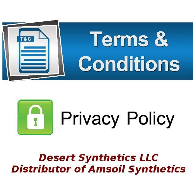 Terms and Conditions & Privacy Policy