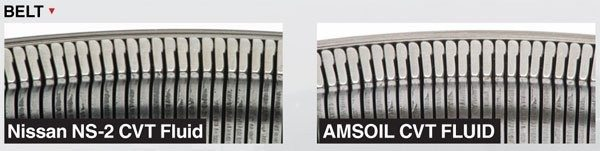 Amsoil Belt Comparison Nissan NS-2 VS Amsoil CVT Transmission Fluid