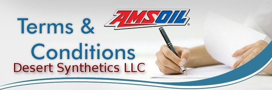 Amsoil Dealer Don Gladue's Terms & Conditions