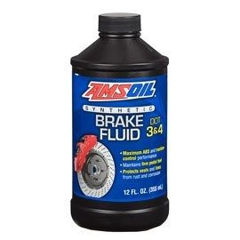 Amsoil DOT 3 and DOT 4 Synthetic Brake Fluid BFLV