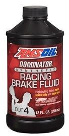 Amsoil DOT 3 and DOT 4 Synthetic Brake Fluid BFR