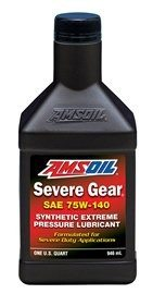 Amsoil SAE 75W-140 Synthetic Severe Gear Lube SVO
