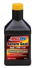 Amsoil SAE 75W-110 Synthetic Severe Gear Lube SVT