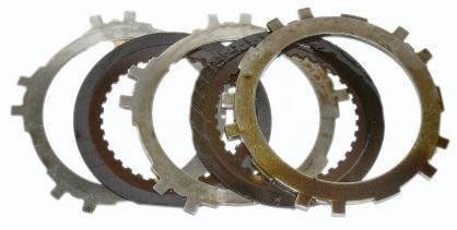 Automatic Transmission Clutch Plates Before Engine Flush