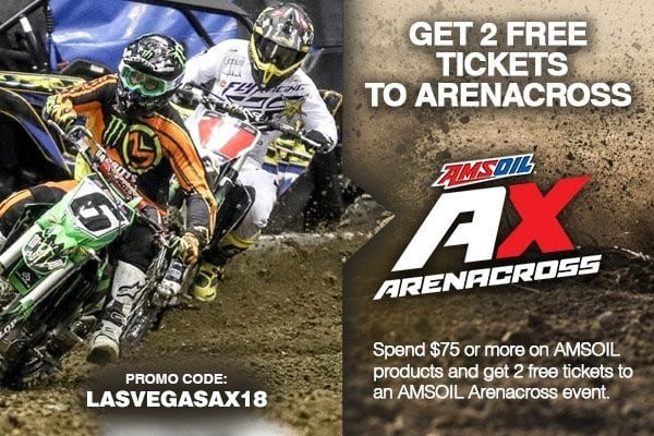 Amsoil 2018 Arenacross Las Vegas NV