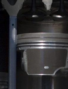 Engine Cutaway Displaying Piston Rings