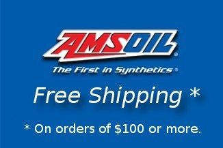 Free shipping on Amsoil orders of $100 or more